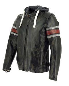 Motorrad-Lederjacke-Toulon-red-Gr-58-J-11