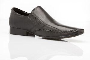 NEW-MENS-ZASEL-BLACK-LEATHER-SLIP-ON-DRESS-WORK-FORMAL-WEDDING-CASUAL-SHOES