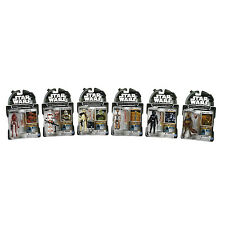 Star Wars Legacy Collection Action Figure 6 Pack + 1 Build A Droid Factory NEW