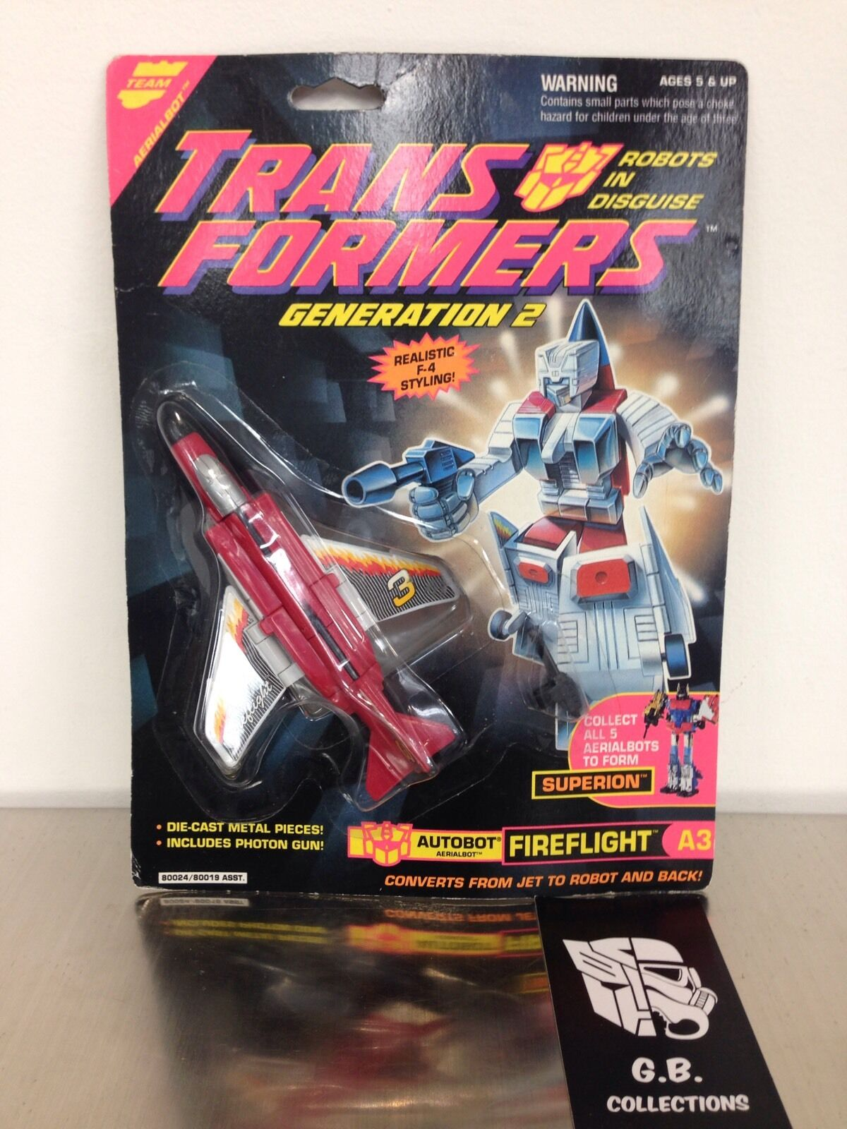 Transformers G2 Fireflight MOSC - Aerialbots Superion