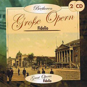 "Grandi opere ""Fidelio"" Ludwig van Beethoven 2cd-set NUOVO & OVP"