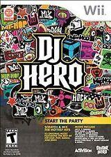 DJ Hero (Nintendo Wii, 2009) Factory Sealed, Game Only