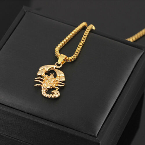 Personality Jewelry Fashion Pendant Necklace Scorpion Necklace Hip Hop