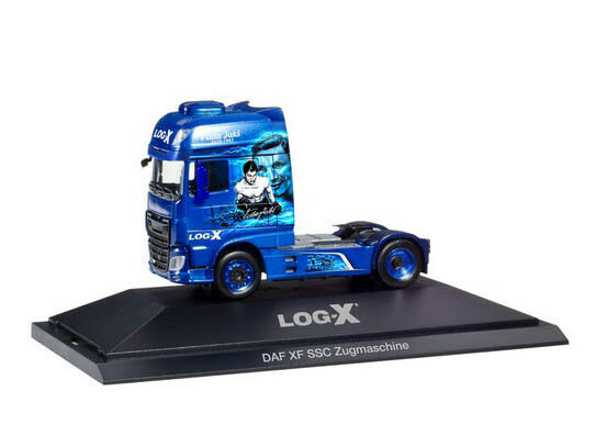 Herpa 110952 h0 Camion DAF XF SSC tracteur Log-X THE BOXER