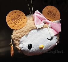Super Cute Hello Kitty Plush Change Purse Wallet Coin Bag Card Holder Pendant