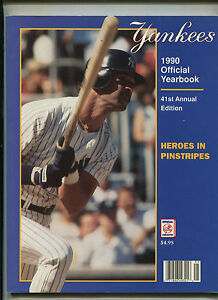 New-York-Yankees-1990-Official-Yearbook-41st-Annual-Edition-MBX21