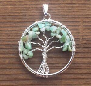 Jade Tree of Life Pendant