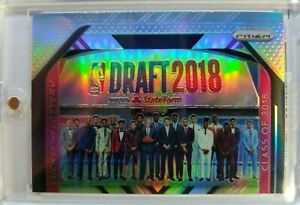 2018-19-Prizm-Silver-Luck-of-the-Lottery-Class-15-Luka-Doncic-Trae-Young-RC
