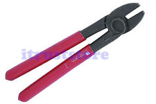STRAIGHT HEAD HOG RING CLIP UPHOLSTERY PLIERS CRIMPER CRIMPING HAND TOOL HOGRING