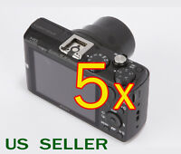 5x Clear Lcd Screen Protector Guard Film For Sony Cybershot Dsc-hx60 / Hx60v