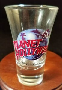 Collectible-Barware-Shooter-Shot-Glass-Planet-Hollywood-Mall-Of-America