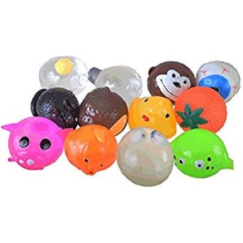 Lot de 100 pieces Splat boules Squeeze ASSORTIHommesT Mix  Squishy Toys Stress Relief  le dernier