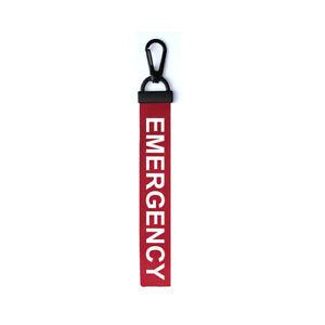 Emergency-Key-Chain-Keyring-Luggage-Tag-Zipper-Pull-Bag-SOS-Key-Ring