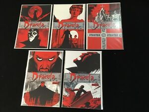 The-Complete-Dracula-1-5-Dynamite-Comics-2009-NM