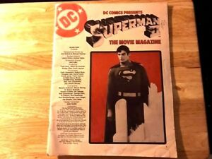 Vintage-Superman-II-The-Movie-Magazine-Large-Sized-Great-Condition