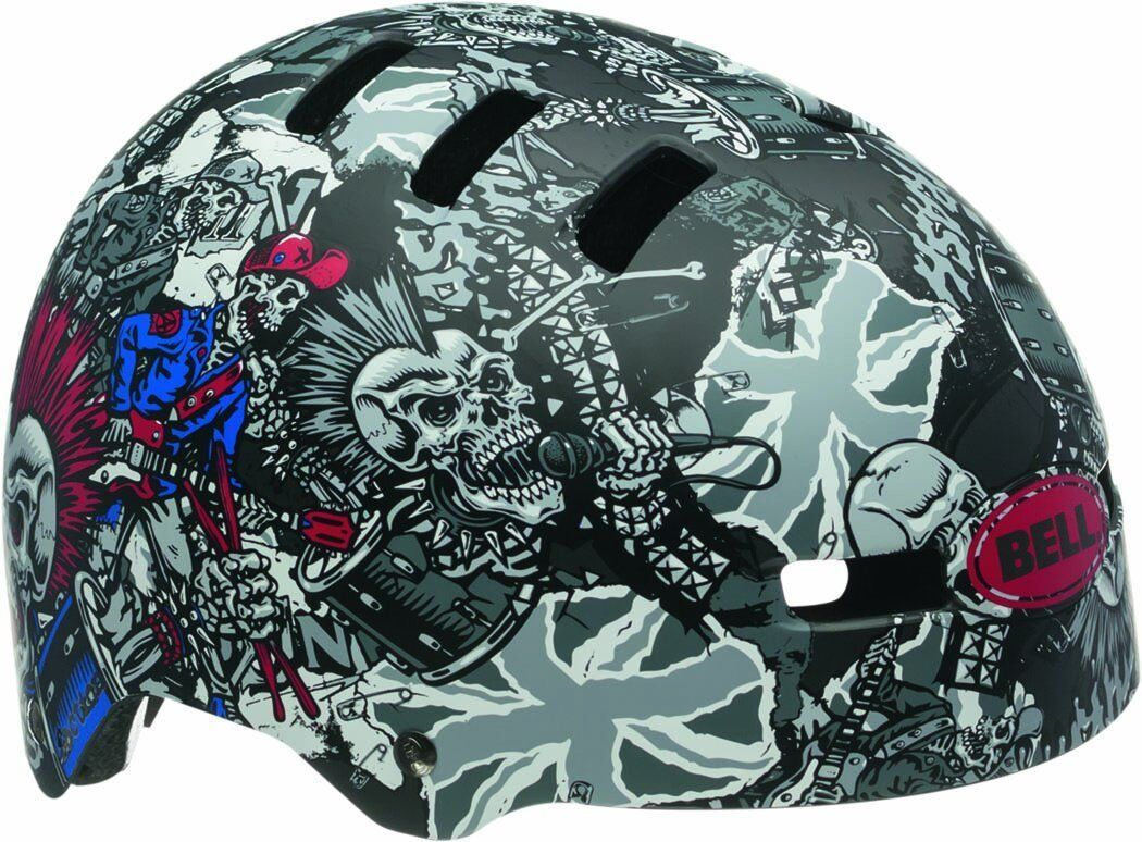Bell Faction Casco per bicicletta Casco bici casco MTB BMX In linea SkaterJumbo