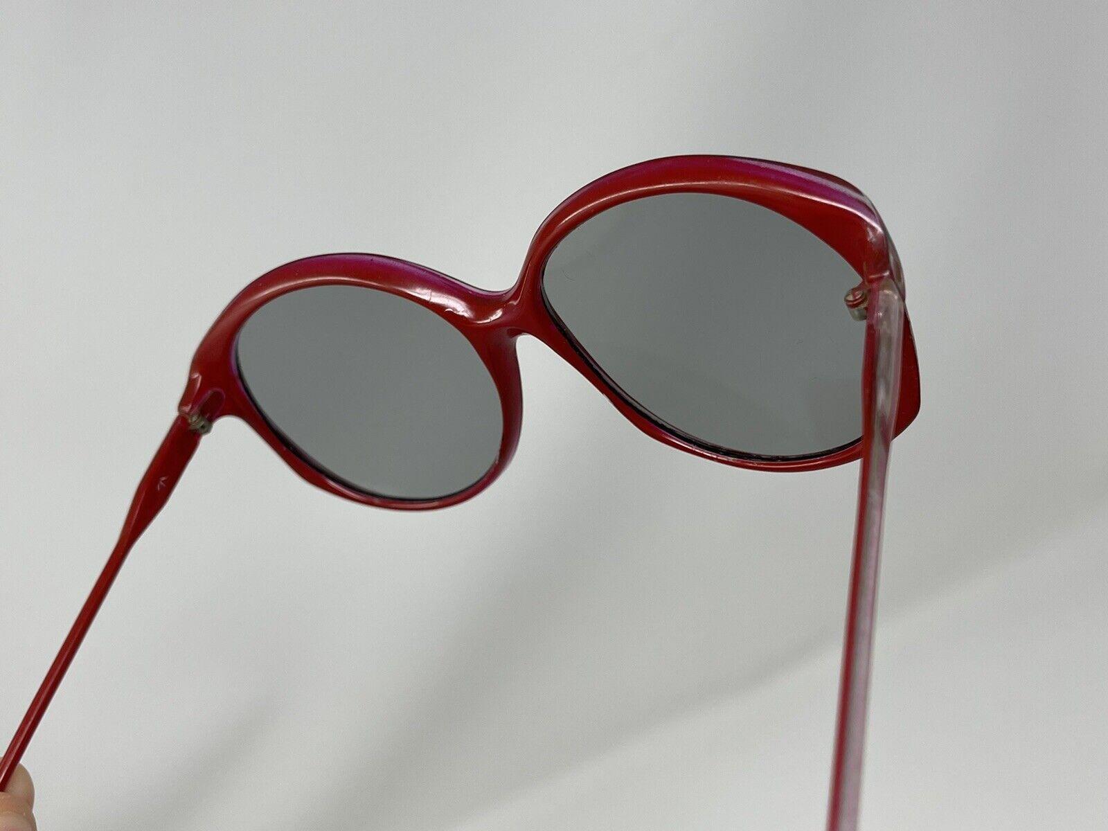 vintage Sunglasses Big Photocromatic Red SUNGLASS… - image 6