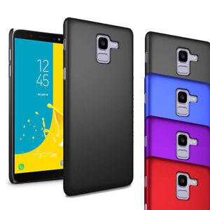 Pour-Samsung-Galaxy-J6-2018-J600F-Etui-Ultra-mince-dur-cas-Couverture-Arriere-amp-ecran