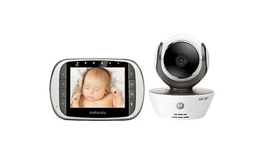 Motorola Video Baby Monitor with Wi-Fi Internet Viewing MBP853CONNECT-2 Dual Cam