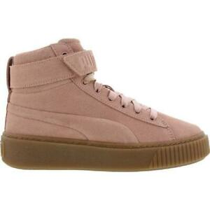 basket fille puma rose