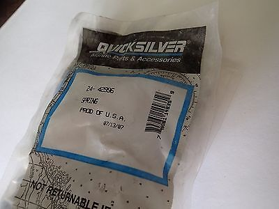 New Mercury Mercruiser Quicksilver Spring OEM Part # 24-42996