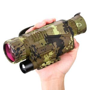 5X Optical Zoom  8X Digital Zoom Night Vision Infrared 16GB Monocular Scope