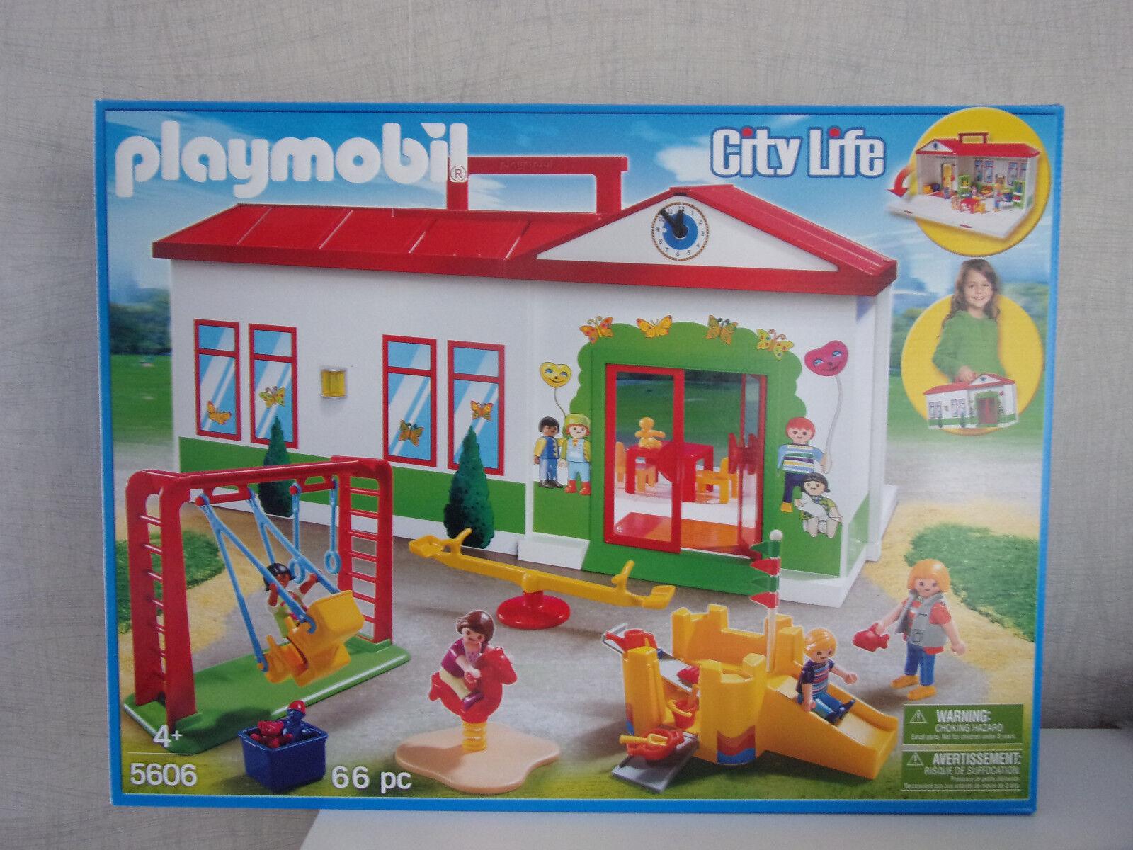 Playmobil City Life 5606 École Maternelle - Neuf et Emballage D'Origine