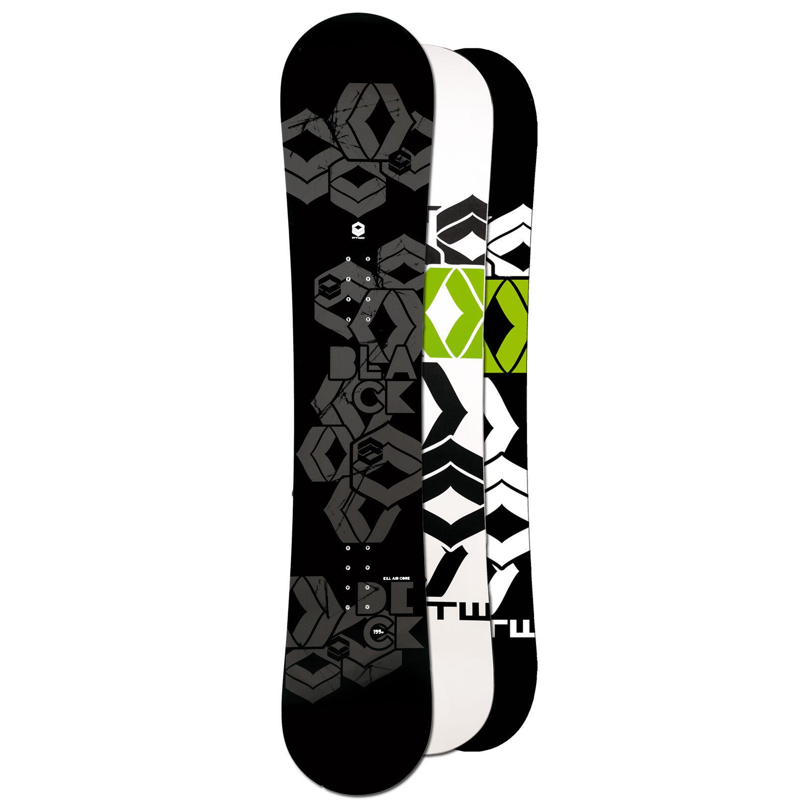 Ftwo Hombre Freestyle Snowboard Cubierta Negra 150cm Inclinación