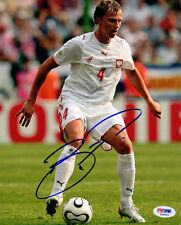 Marcin Baszczynski SIGNED 8x10 Photo Poland Soccer Team PSA/DNA AUTOGRAPHED