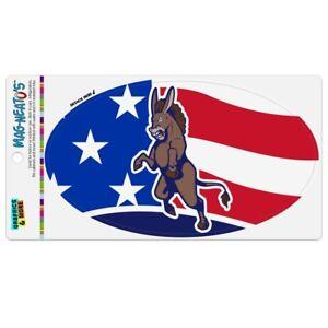 Angry-Democrat-Donkey-Politics-America-Flag-Car-Euro-Oval-Magnet