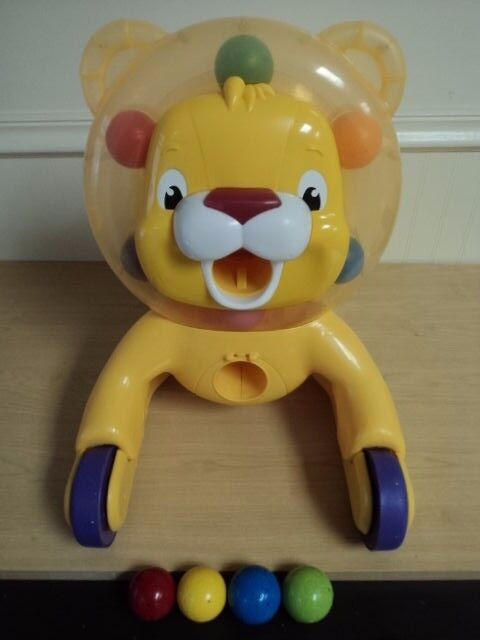 Baby Sit Play Walker Step N Ride Toy 3 In 1 Roaring Fun Lion Push ...