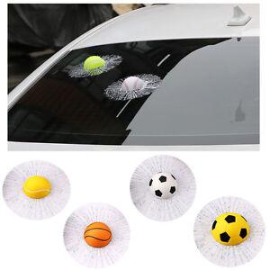 Prank-Tennis-Ball-Glass-Broken-3D-Effects-Car-Window-Scratch-Covered-Sticker-Hot