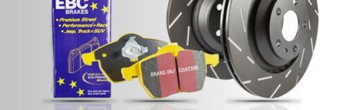 PD08KF166 EBC Front Brake Kit Yellowstuff Pads /& Ultimax Discs
