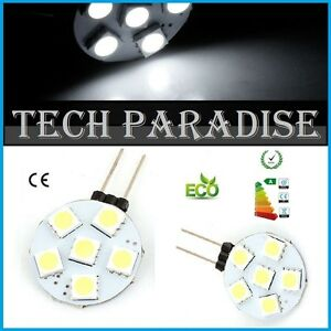 1x-Ampoule-6-Led-SMD-5050-G4-12V-DC-Dimmable-3W-blanc-froid-SDB-HOTTE-90-lumens
