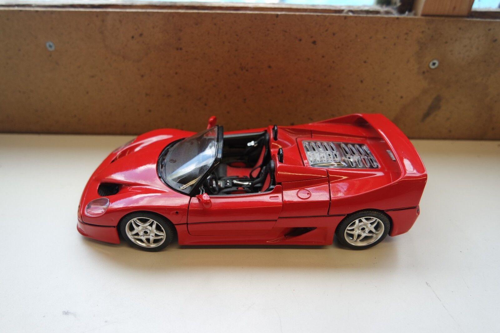 BURAGO 7052 metal kit FERRARI F50 1995 1 18 Ready assembled