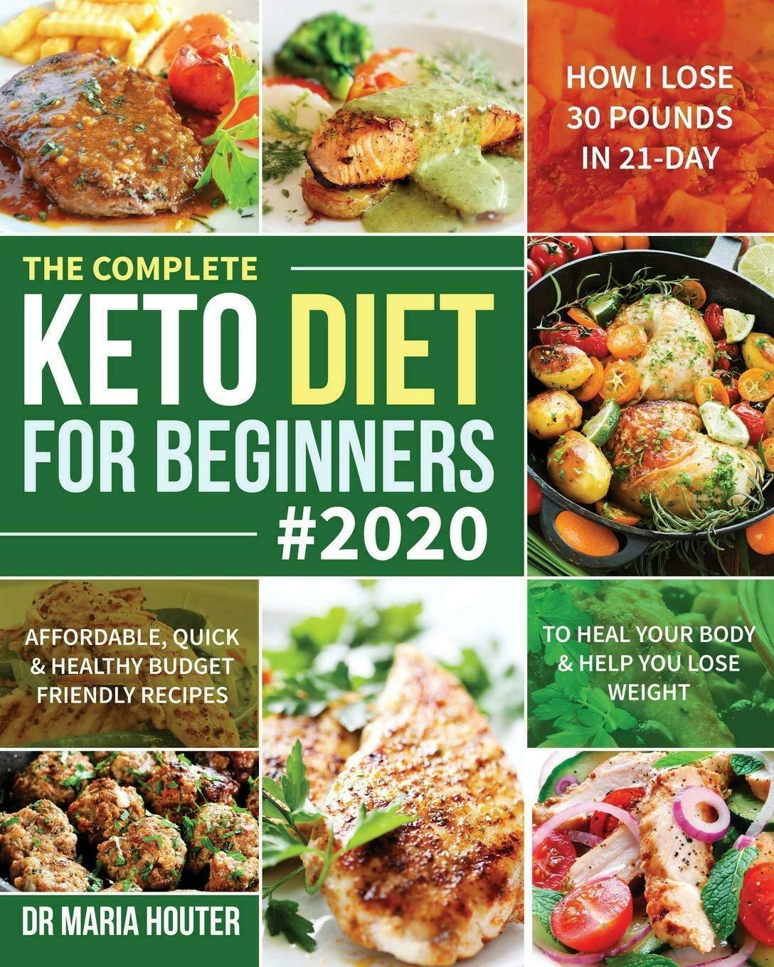 Keto Diet Book For Beginners Quick Healthy Ketogenic Recipes Cookbook 2020 New 9781708800536 Ebay