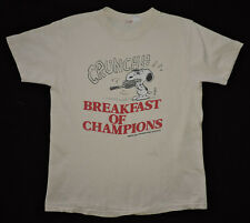 Vtg 70s 80s Snoopy Charlie Brown Peanuts Champions Tennis Westwood T-shirt L USA