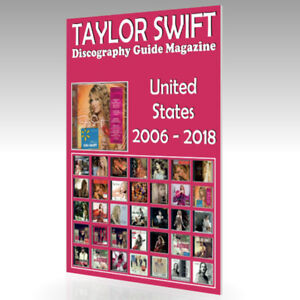 TAYLOR-SWIFT-Discography-Guide-Magazine-United-States-2006-2018-Nuevo