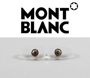 MONT-BLANC-Eyeglasses-Sunglasses-Original-Replacement-Screw-in-Nose-Pads-SILVER
