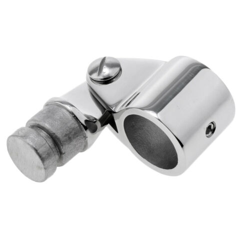 Polished Stainless Steel Marine Boat Awning Hand Rail Fitting 22mm Elbow