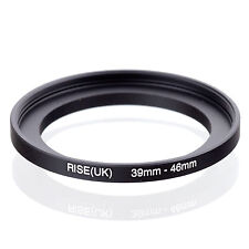 39mm-46mm 39mm to 46mm  39 - 46mm Step Up Ring Filter Adapter for Camera Lens