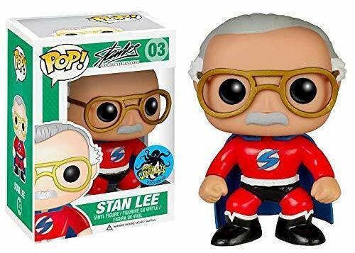 Pop  Superhero Stan Lee 2015 Comikaze Exclusive Vinyl Funko