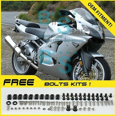 Fairings Bodywork Bolts Screws Set For Kawasaki Ninja ZX-6R 2000-2002 11 G1