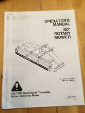 3 allis chalmers 616 tractor owners manual 60 inch mower parts rh ebay com