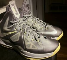 innovative design 986ff 899f9 item 4 Nike LeBron 10 X Yellow Canary Diamond Size 9 Gray Wolf Metallic  541100-007 -Nike LeBron 10 X Yellow Canary Diamond Size 9 Gray Wolf  Metallic 541100- ...