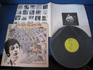 Details about Michael Bloomfield It's Not Killing Me Japan Vinyl LP Promo  Label Copy Mike