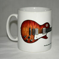 Guitar Mug. Mike Bloomfield's Gibson Les Paul illustration.