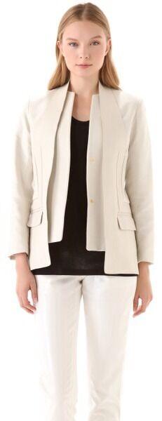 Alexander Wang  Panel de cuero chaqueta Talle 0  Precio por piso