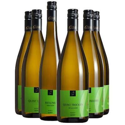 """6er Weißwein """"easy-drinking""""-Paket vom Mosel-Weingut Quint"""