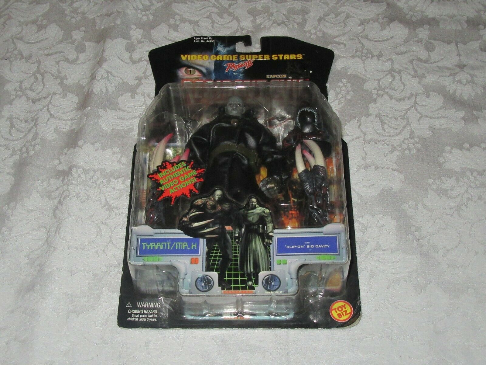 Toy Biz Video Game Super Stars Presents Capcom Resident Evil Tyrant Mr X Figure